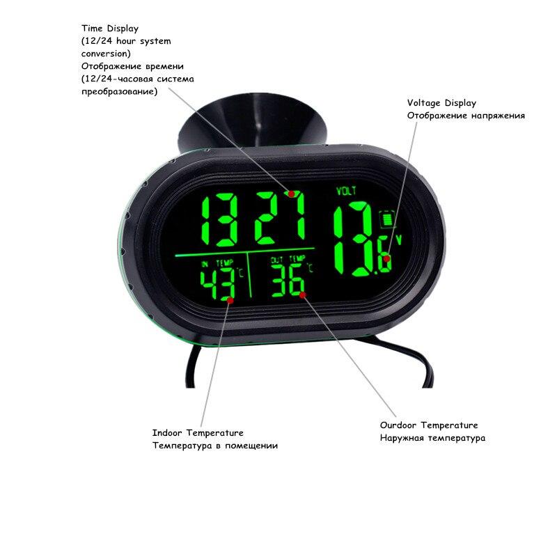 /Controladora UV alerta anti golpe de sol con Timer Peque/ño term/ómetro exterior/