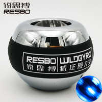 10000+ RPM Power Wrist Ball Metal Forearm Muscle Training Pressure Relieve Fitness Gyroscope Exerciser Force strengthen Ball T