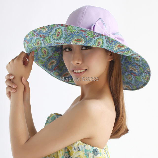 2016 Fashion Large brim millinery dome cap summer sunbonnet windproof beach  big hat elegant flat brim 60f267d4b517