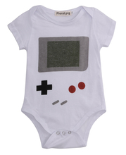 Lovely Baby Boy Girls Jumpsuit Bodysuit,Newborn boys game player Bodysuits,Infant Kids Clothes Outfit 0-24