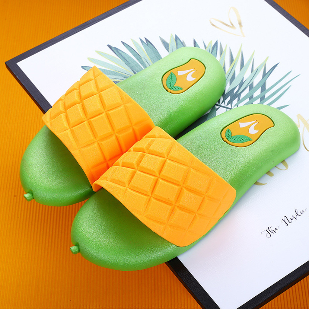 Mango Slippers for Boy Girl Shoes 2019 Summer Baby Kids Beach Water Indoor Home Shoes PVC Cartoon Kids Slippers zapatillas playa(China)
