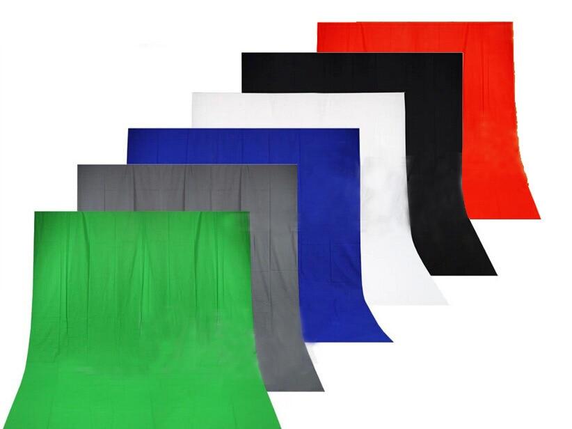3x5 m Foto Estúdio de Fotografia Fundo De Musselina Sólida, Fotografia Fundo, Vermelho/Verde/Preto/branco/Azul/Cinza para escolher