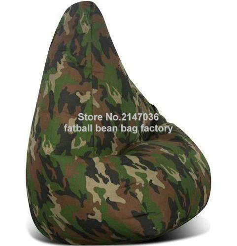 Camouflage Bean Bag Chair Sofa Used Furniture Living Room Recliner In Sofas From On Aliexpress Alibaba Group