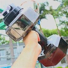 Емкость гантели в форме бутылки для воды Творческий Молот Портативный Открытый боьшая чашка велосипед Кемпинг спорт анти-утечки посуда для напитков