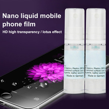 New nano technology Nano Liquid Tempered Glass Screen Film Full Cover Anti-Scratch Protector for iPhone Samsung DOM668