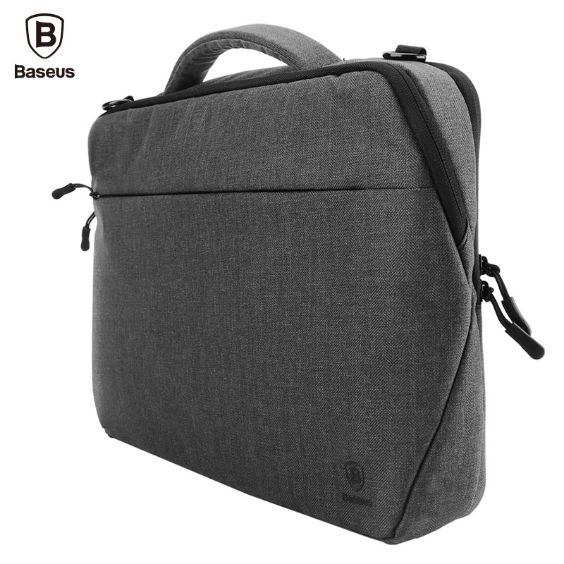 Baseus Luxury Laptop Bag 15 inch Women Men Notebook Bag Shoulder Messenger Computer Sleeve Handbag For Macbook Pro Air Case
