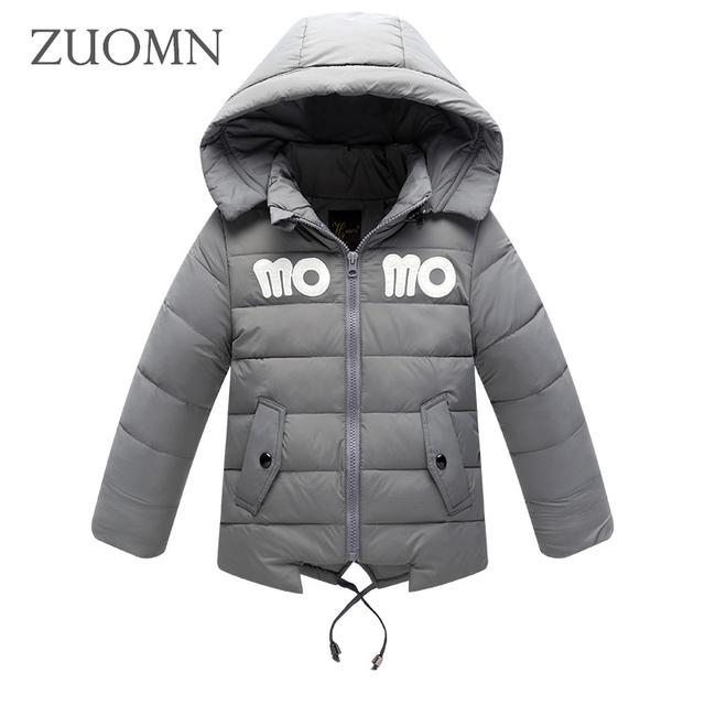 Chaquetas de invierno Para Niñas de Down Abrigos Moda Ligero Chica Niños Espesar traje para la Nieve Niños ropa de Abrigo Niños Grandes Ropa GH325