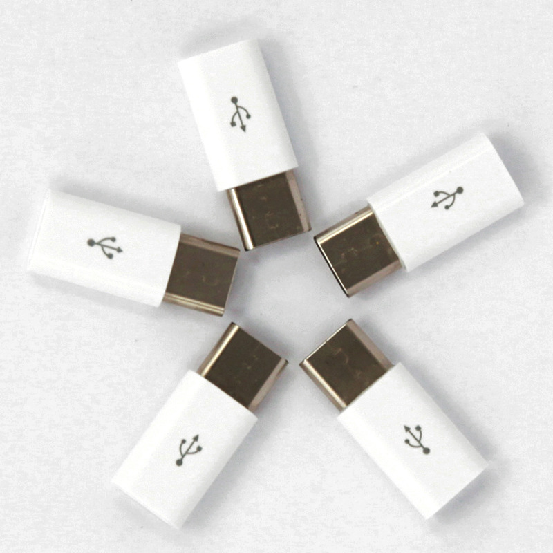 5pcs/lot USB 3.1 Type C Male to Micro USB Female USB C