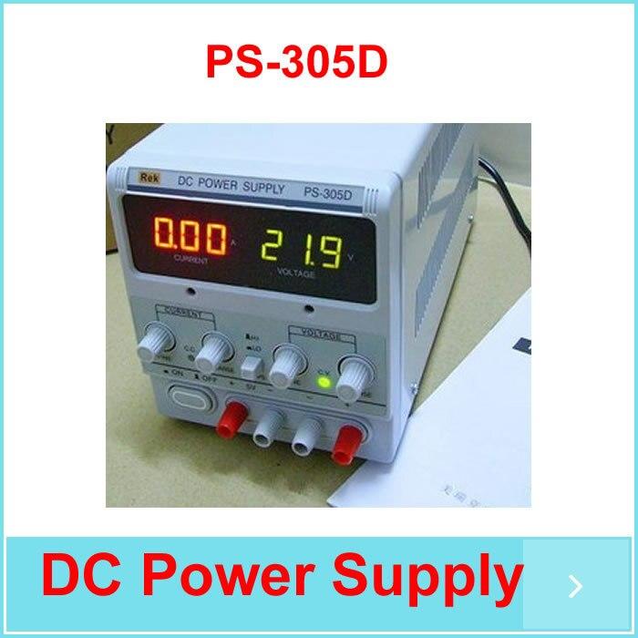 Бесплатная Доставка 30 В 5A DC Питание для лаборатории PS 305D Регулировка Цифровой Регулируемый DC Питание