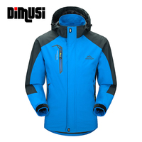 DIMUSI Casual Jacket Men 2016 Man S Spring Autumn Army Waterproof Windbreaker Jackets Male Breathable UV