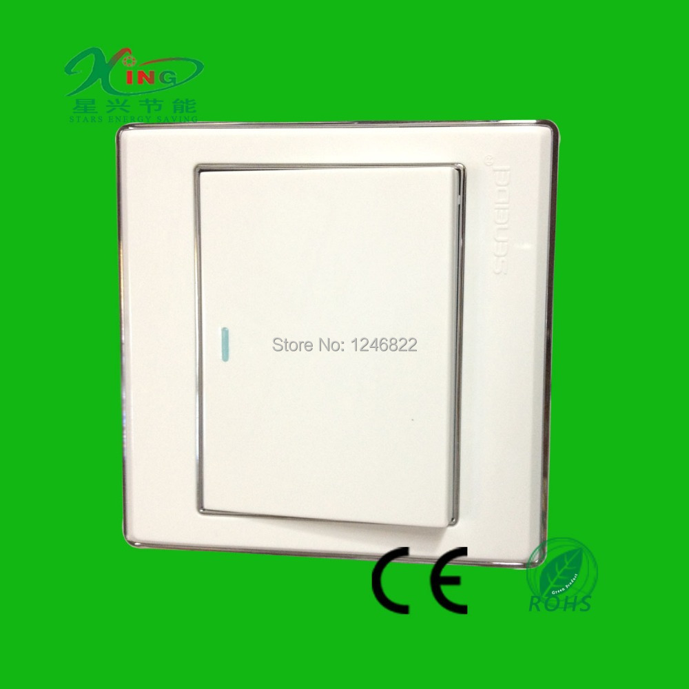 10A Senied brand 1 gang 2 way wall electrical switch from france-in ...