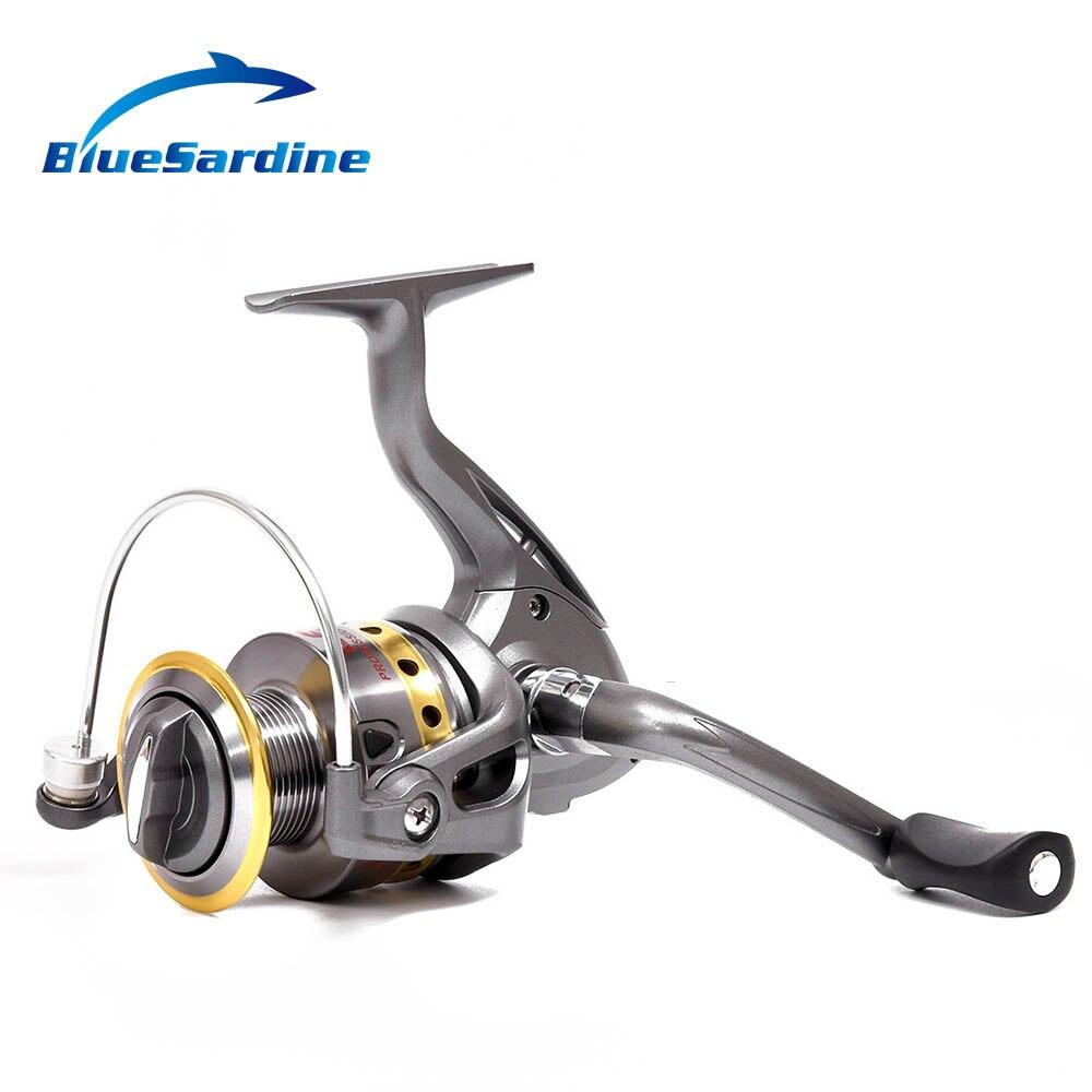 Nuevo Carrete Pesca Spinning 8 Rodamientos De Bolas 5.5: 1 Relacion de velocidad