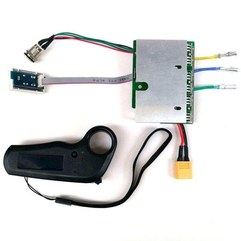 Contrôleur de planche à roulettes électrique planche à roulettes conseil de pilote à entraînement unique moyeu de détection externe panneau moteur 36V contrôleur de planche à roulettes - 2