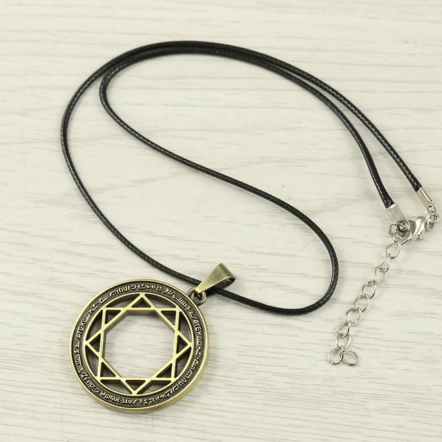 Black Butler Anime Bronze Charm Pendant Necklace Jewelry