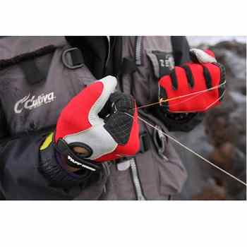 Fishing finger protector Fishing Gloves anti-cut with Imported sheepskin fingerless anti slip Waterproof gloves for fishing - DISCOUNT ITEM  10% OFF All Category