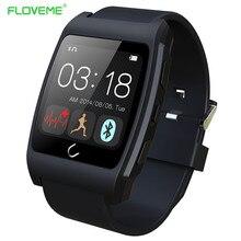 FLOVEME D6 Gesundheit Sport Smart Uhr Pulsuhr NFC Schrittzähler Android Und IOS Smartwatch Armband Für iPhone/Samsung/HTC
