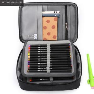 Image 2 - New Super Big Pencil Case Fabric Quality Cute School Supplies Stationery Gift School Cute Pencil Box Pencilcase Pencil Bag