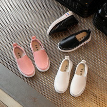 WENDYWU/Весенняя коллекция года; обувь для мальчиков и девочек в Корейском стиле; детская обувь; Новая повседневная обувь; кроссовки для мальчиков в британском стиле