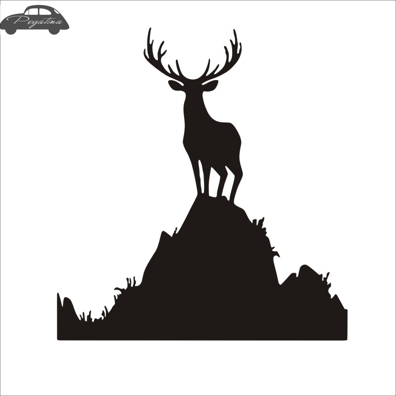 Pegatina Hunt Buck Sticker Deer Hunter Club Decal Gun Shop Hollow Hunting Car Window Vinyl Decal Funny Poster ...
