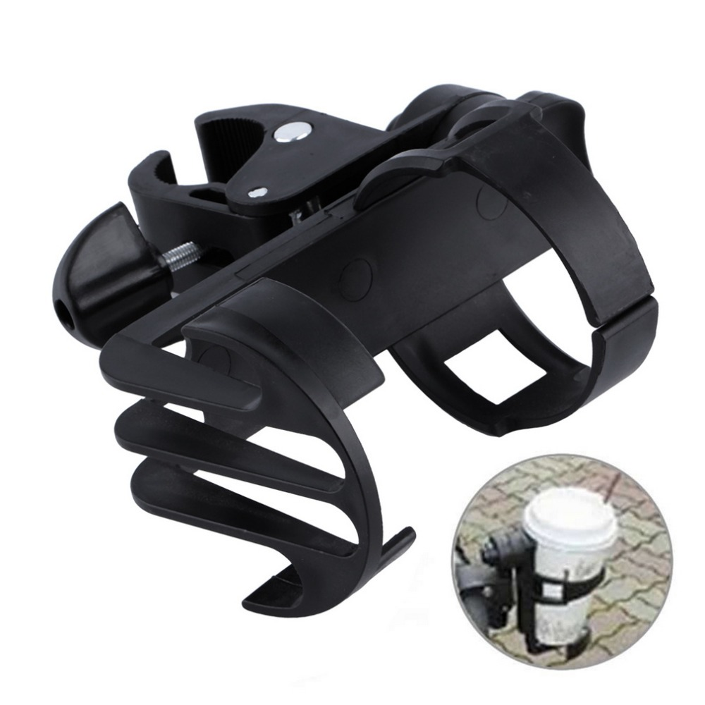 hot baby stroller cup holder universal childrens bicycle quick release kettle frame rotate 360 degrees hang bottle rack