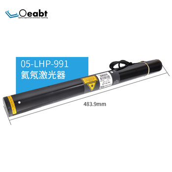 Melles 05-LHP-991 helium-neon laser precision experiment laser light source 30mW red light 632 light detection and ranging using nir 810 nm laser source