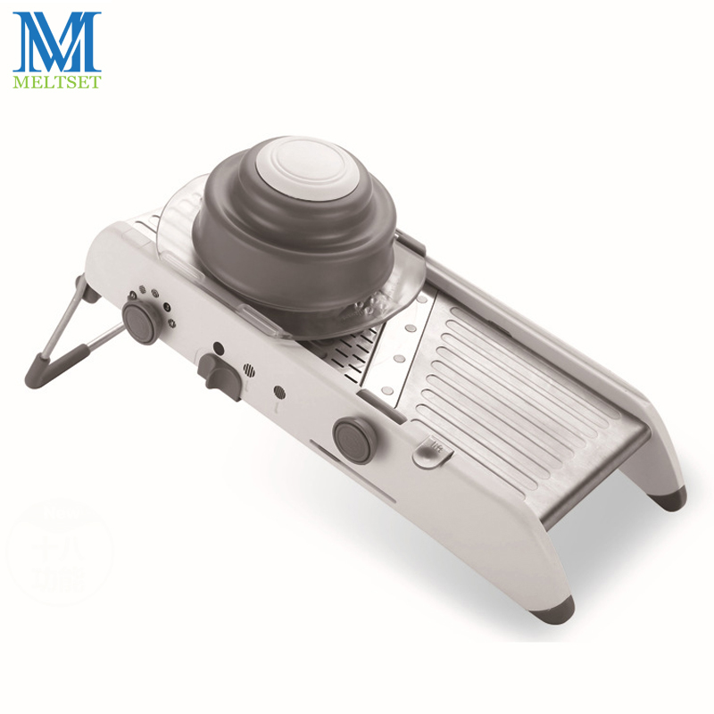 Manual Julienne Vegetable Cutter Mandoline Slicer Fruit Vegetable - Kitchen, Dining and Bar - Photo 3