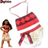 Baby Girls Floral Swimwear Bikini Children S Swimwear Girls Bathing Suits Swimming Clothes Kid Girl Moana
