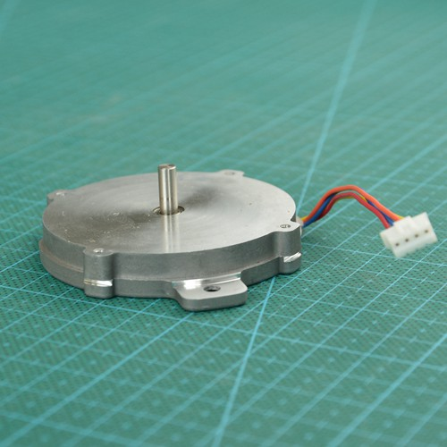 NEMA23 Step 57 Ultra Thin Hybrid Stepper Motor 9.6mm Thick Current 0.8A Step Angle:1.8 Torque: 60mN.m Electric Feida Gear