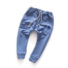 Boy шаровары малышей симпатичные топы девушки брюки одежда дети для