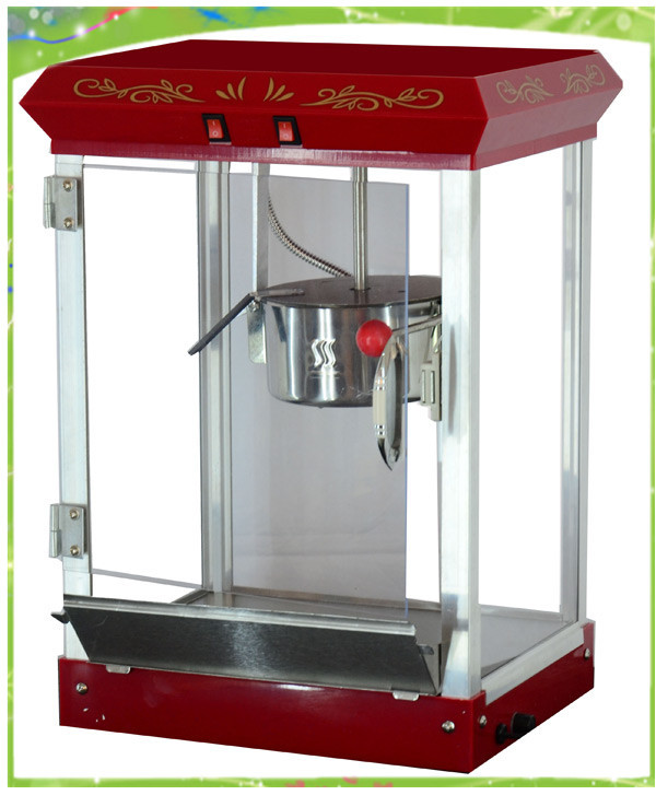 commercial popcorn machine free shipping exported to New Zealand pop 08 commercial electric popcorn machine popcorn maker for coffee shop popcorn making machine
