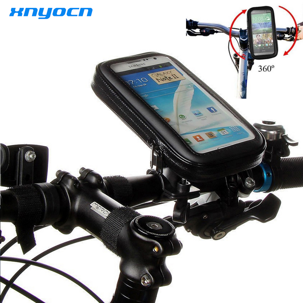 For Samsung Galaxy Note 7 Note7 J5 S7 Edge <font><b>A5</b></font> A3 <font><b>2016</b></font>/Iphone 6 6s Case Waterproof Mobile Phone Case Cover Bike Bicycle Pouch Bag image