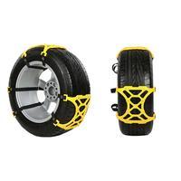 VODOOL Car Tire Snow Chains Beef Tendon VAN Wheel Tyre Anti Skid TPU Chains Car Styling