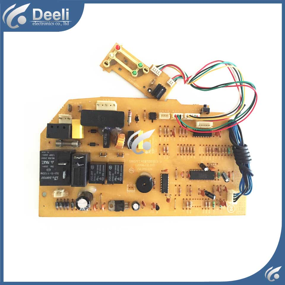 95% new good working for air conditioning motherboard Computer board S807F1418TDG313-X KF ZKFR-36GW/D2 sony tdg br250 3d очки
