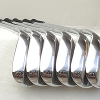 New golf Wedge Silver s7 Golf Wedge Golf Clubs 50/52/54/56/58/60 Degrees Steel Shaft With Head Cover