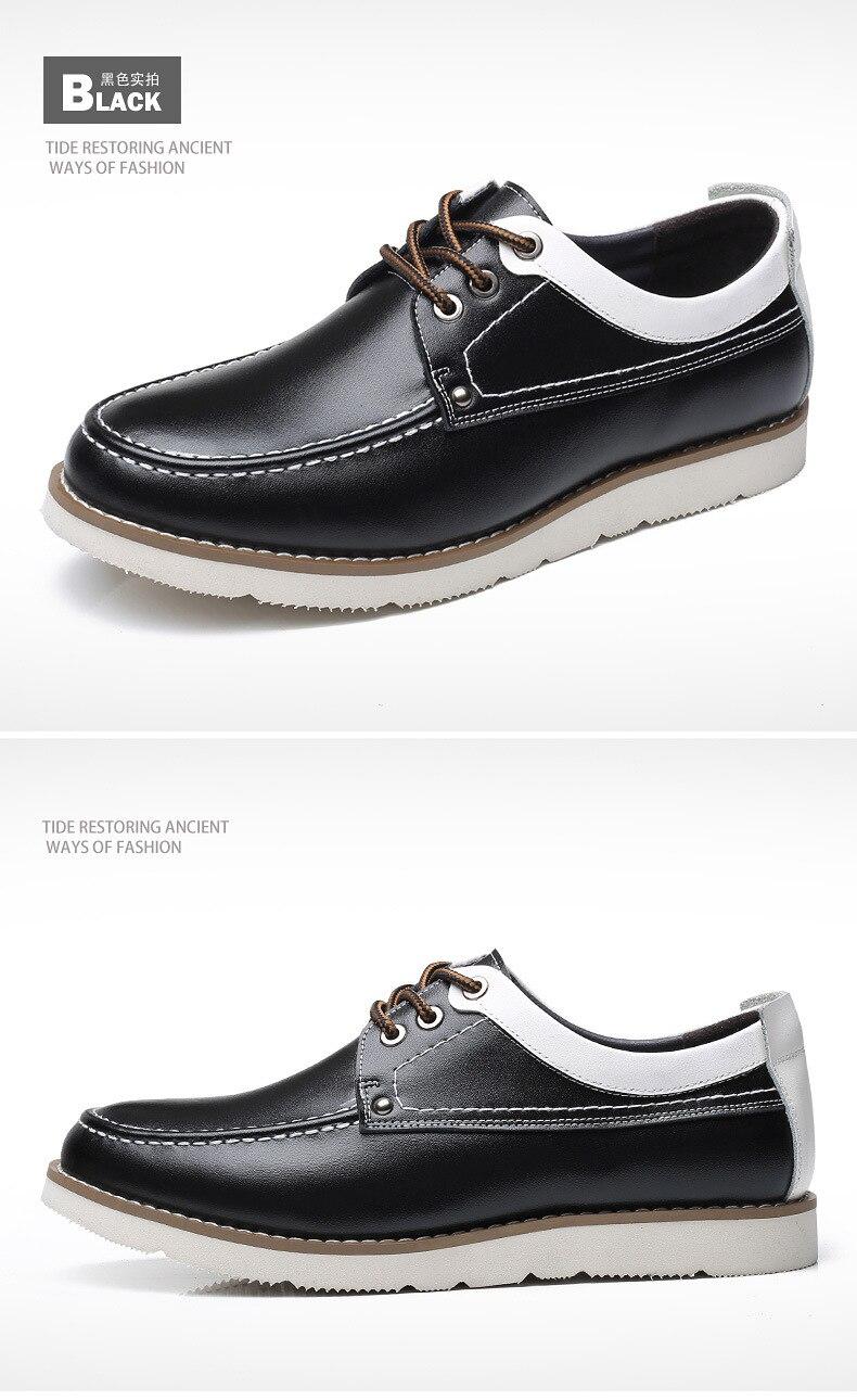 Dos Lace Jovens y Moda Couro Casual Ol008 À Da D' Único Homens ol008 Ol008 k Confortáveis Prova Sapatos Outono up De Água 6ZPInw1Pq