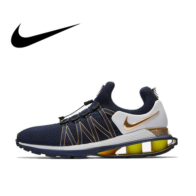 NIKE SHOX GRAVITY Original Running Shoes Breathable For Men Sneakers Sport Outdoor Footwear Designer 2019 New #AR1999-400NIKE SHOX GRAVITY Original Running Shoes Breathable For Men Sneakers Sport Outdoor Footwear Designer 2019 New #AR1999-400