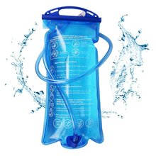 Outdoor Camping Water Bag Soft Drinking Flask Storage Foldable camelback Hydration Bladder Cycling Hiking Travel Waterbag 2L