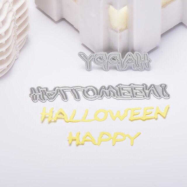 Halloween Wort Kürbis Witch Skeleton Spinnennetz Stanzformen ...