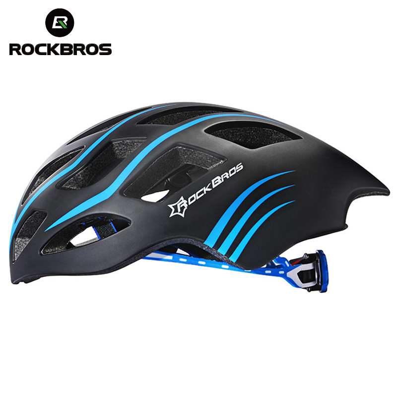 ROCKBROS Bicycle Helmet Road Bike Cycling Ultrafast Ultralight Integrally-molded In-mold Bicycle Helmet Casco Ciclismo 5 colors rockbros 9 16 magnesium alloy bicycle pedal titanium spindle ultralight mountain bike pedal 5 colors