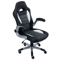 New arrival Racing synthetic Leather gaming chair Internet cafes computer chair comfortable household office Chair free shipping