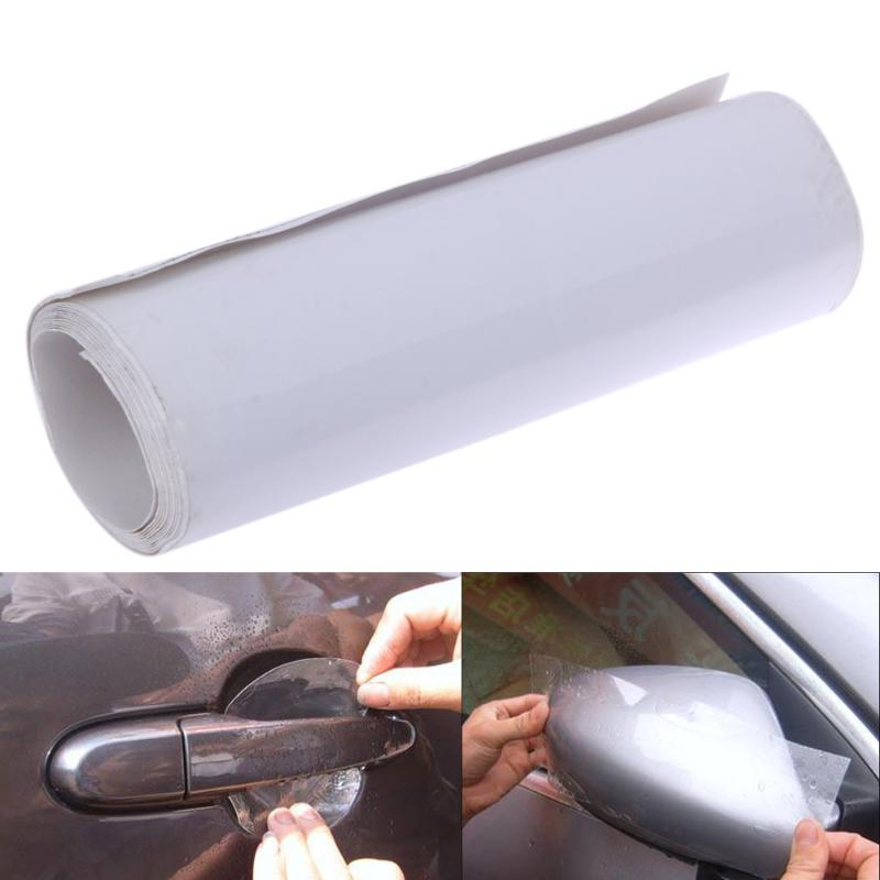 Invisible Auto Car Door Sill Edge Paint Protection Scratch Film Sheet Automobiles Door Handle Protective Sticker Car Styling