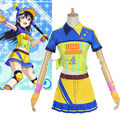 Love Live School Idol Project Sonoda Umi Softball Baseball Uniform Dress Sportswear Outfit Cosplay Costumes