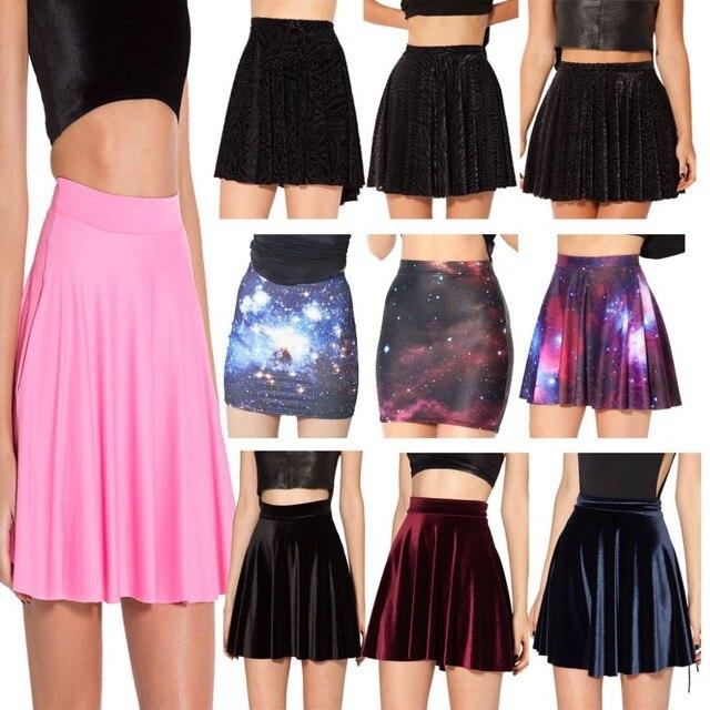 192af8643ea1 2014 Black Milk Sexy Women Skirt Matte Light Pink Cheerleader Short Skirts  Womens Mini High Waist Skirts For Women Plus Size