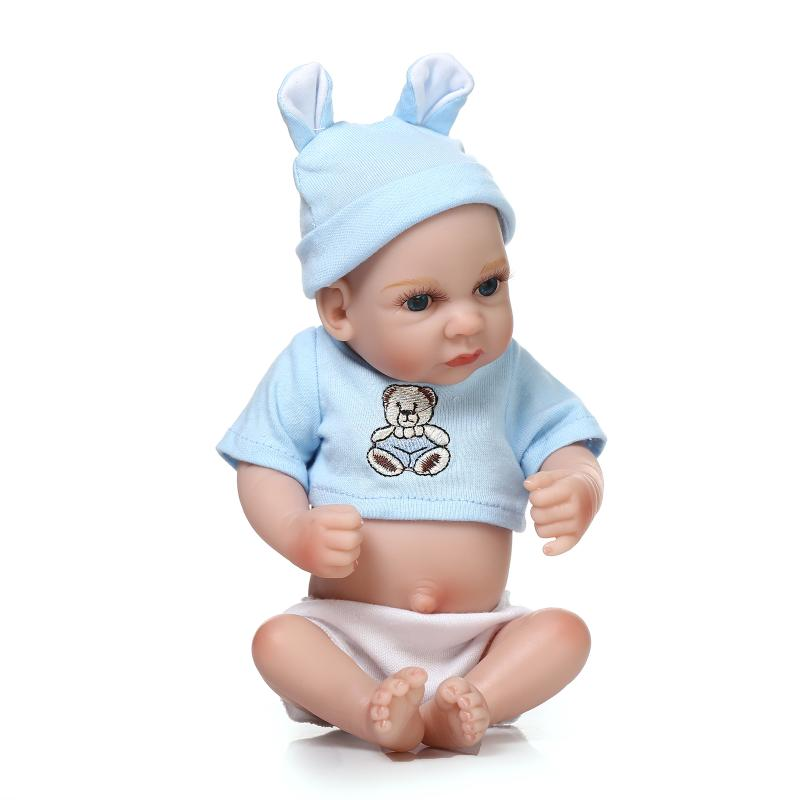 ФОТО 28 cm silica gel regeneration toys children birthday gifts for the children of the baby doll toys collection bibi reborn baby