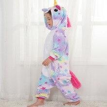 Детская Пижама с единорогом и звездами 6fdb5bf2a071b