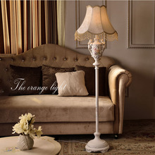 High Quality European Style Retro Iron Floor Lamp Led Bulb E27 110V-220V Modern Floor Lamps for Living Room Dance Floor Led