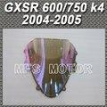 For Suzuki GSXR 600/750 K4 2004 2005 04 05 Double Bubble Windshield/Windscreen - iridium Magic color