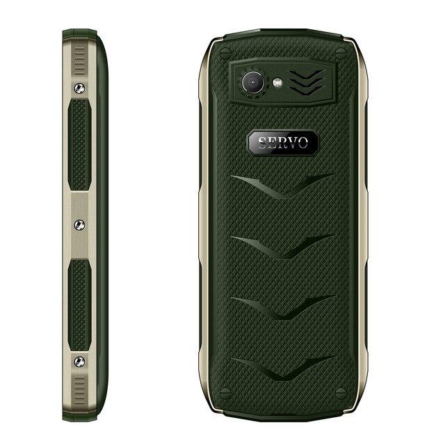 SERVO H8 Mobile Phone 2.8inch 4 SIM card 4 standby Bluetooth Flashlight GPRS 3000mAh Power Bank Phone Russian Language keyboard 6