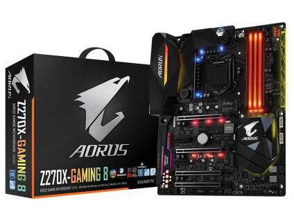 AORUS Z270X Gaming 8 motherboard support 6700K 7700 7700K