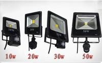 AC85 265V 10W 20W 30W 50W 70W 100W Flutlicht PIR Infrated Montion Sensor Outdoor Refletor LED Außen Flutlicht Lampe Ip65-in Scheinwerfer aus Licht & Beleuchtung bei